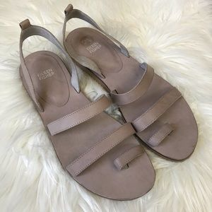 Eileen Fisher Leather Sandals